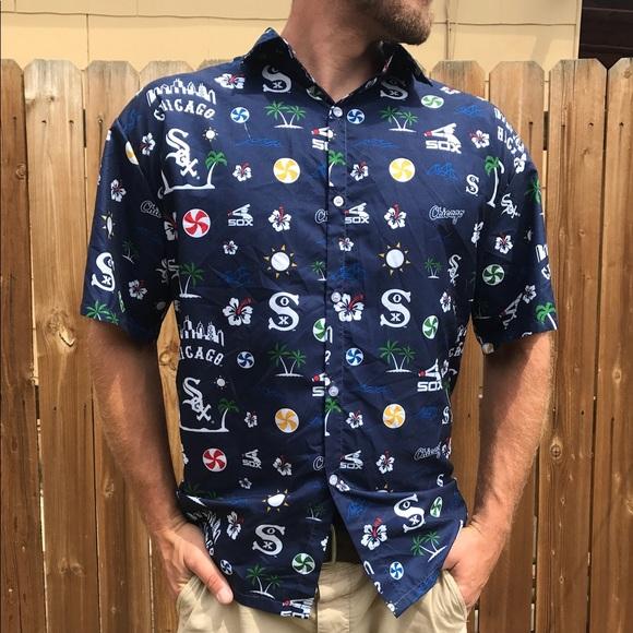900c2c96 Chicago White Sox Hawaiian Button Up. M_5b54dc6212cd4a7c9273490a